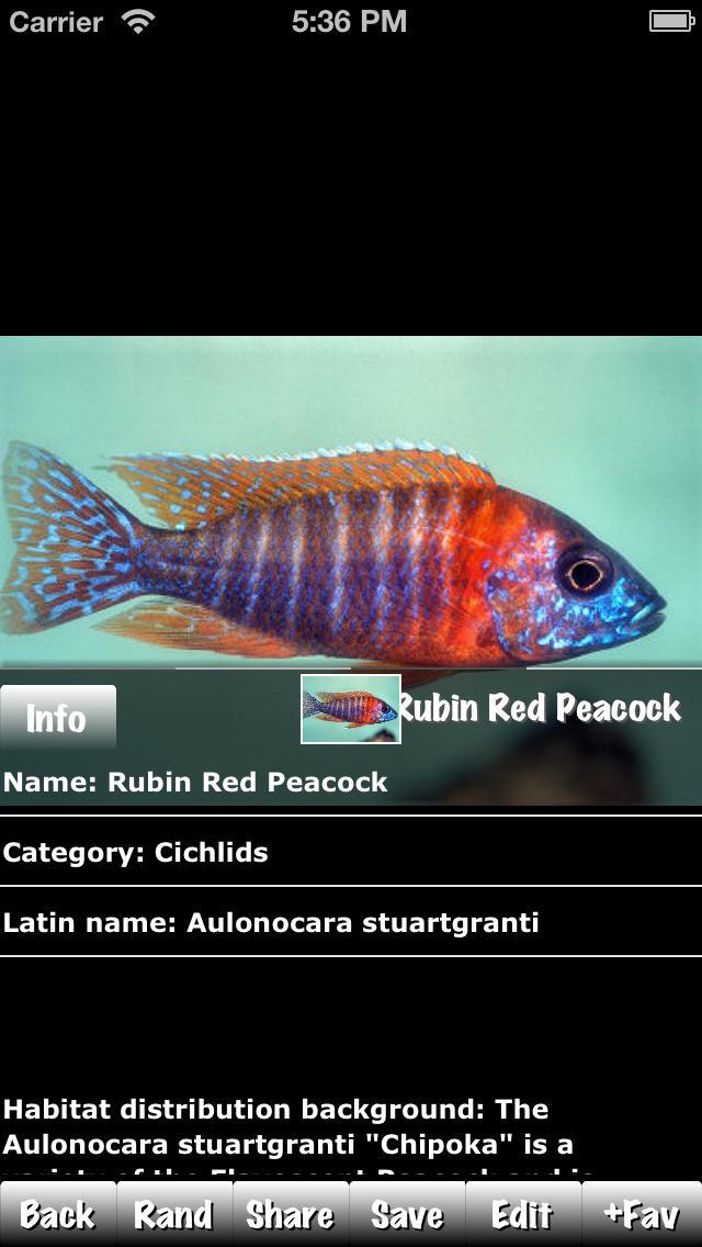Fish Encyclopedia Expert screenshot 3