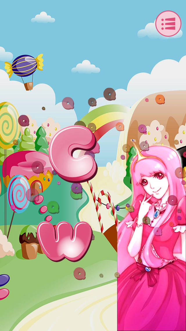 A Candy Princess Letter Quiz - Learn ABCs to find the Pony PRO screenshot 3