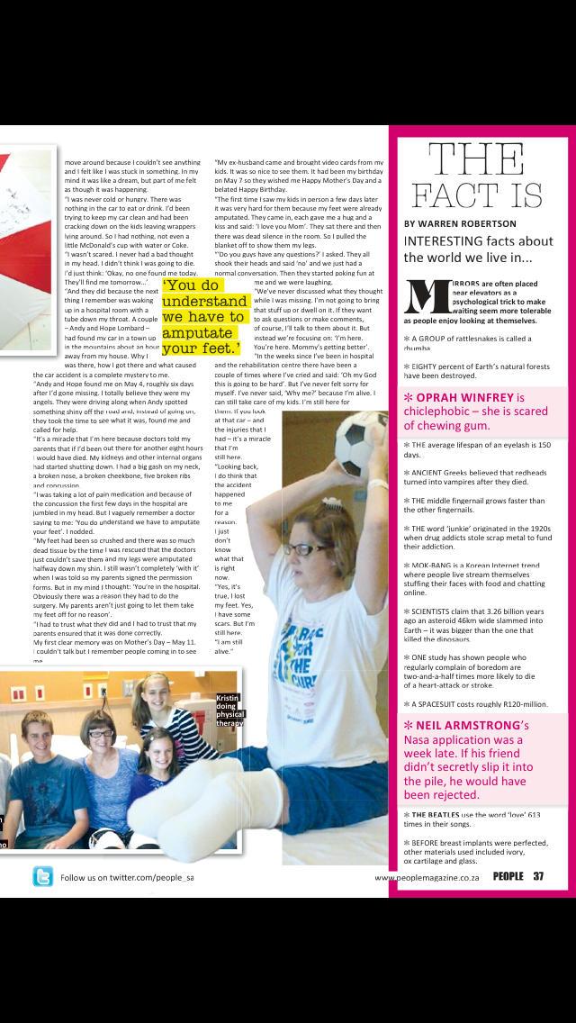 People Magazine South Africa screenshot 5