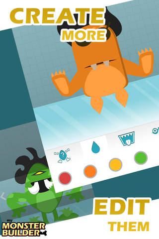 Monster Builder - Best Free Monsters Design Lab Game for Kids screenshot #3