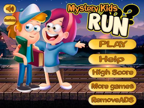 Mystery Kids Run: Gravity Rope screenshot 3