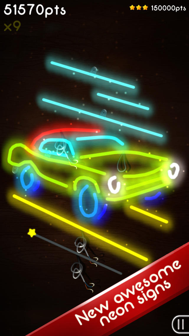 Neon Mania screenshot #2