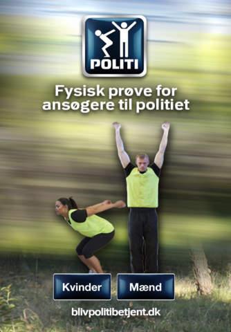 Fysisk prøve for ansøgere til politiet - náhled