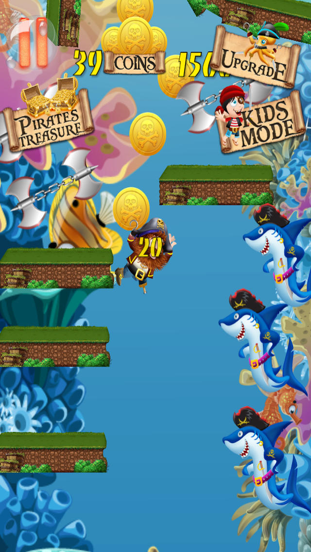 A Perfect Yellow-Belly Pirate Revenge PRO screenshot 3