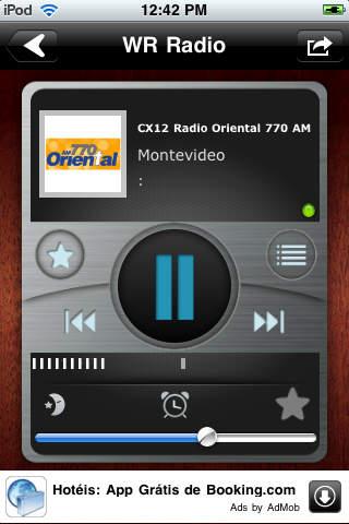 WR Uruguay Radios screenshot 1