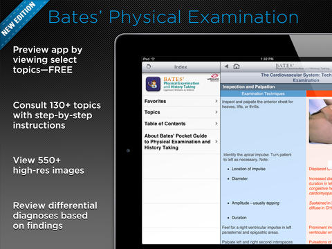 Bates' Pocket Guide screenshot 6