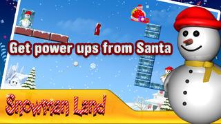 Snowman Land HD screenshot 3