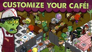 Zombie Café screenshot 1