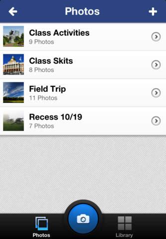 Veracross Teacher Camera & Files - náhled