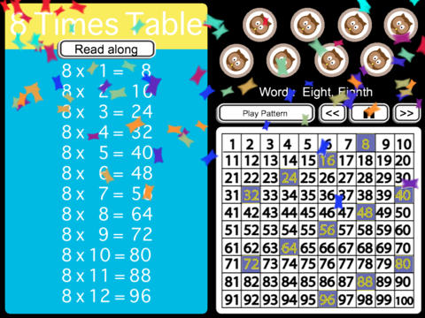 times table OK HD screenshot 5