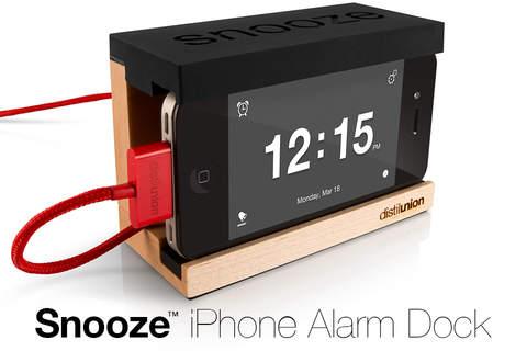 Snooze Alarm App - náhled