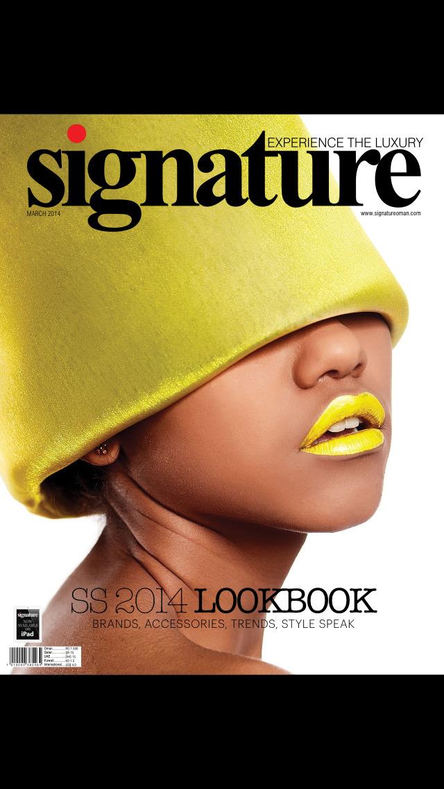 Signature(Magazine) screenshot 1