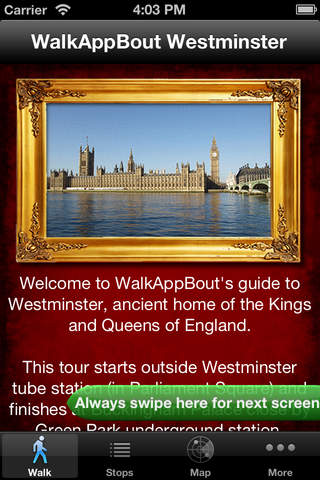 Westminster London WalkAppBout Guide - náhled