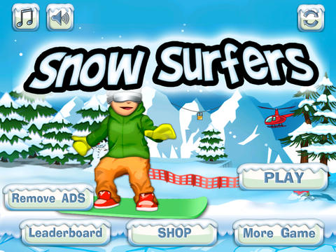 Snow Surfers screenshot 3