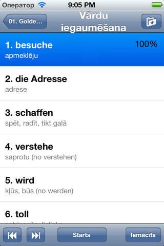 QuickTeacher Vācu valoda - náhled