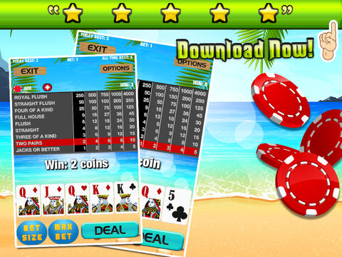 A High Roller Paradise Poker Premium screenshot 6