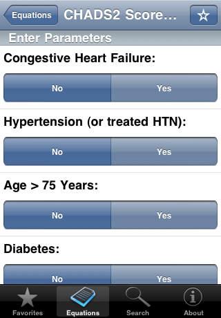 Neurology Calc screenshot 3