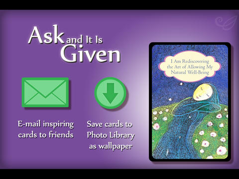 Ask and It Is Given Cards - Esther and Jerry Hicks screenshot 6