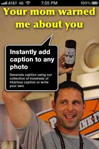 Cap ur Photo - Write funny captions or text on you - náhled