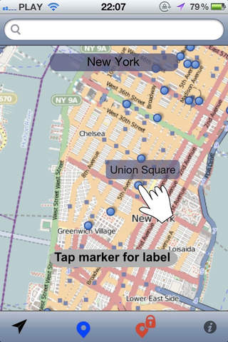 Roam Free New York - Offline Map - náhled