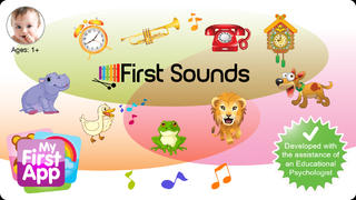 First Sounds - for toddlers screenshot 1