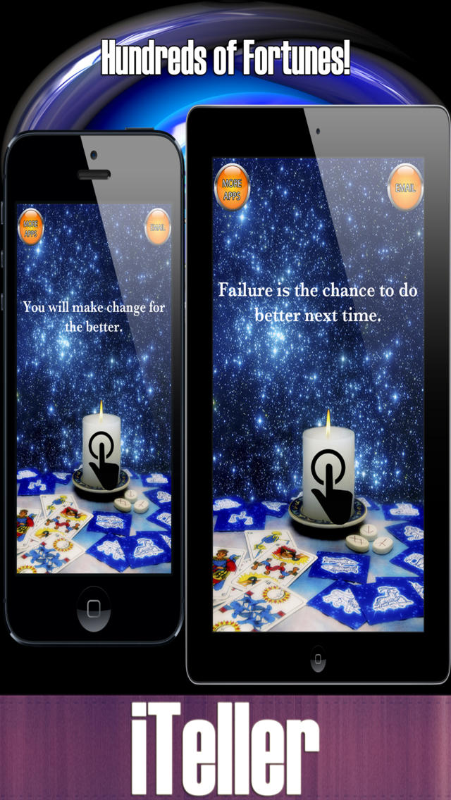 iTeller - Free Fortune Teller screenshot 1