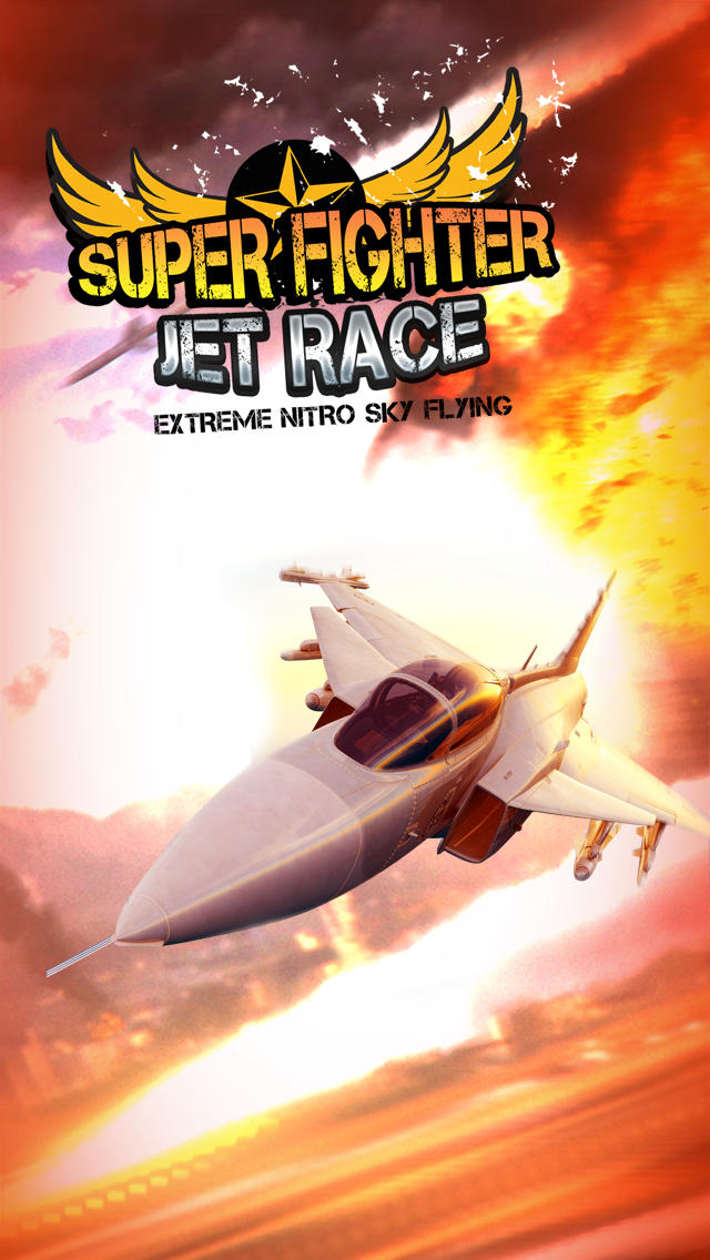 Super Fighter Jet Race Premium screenshot 1