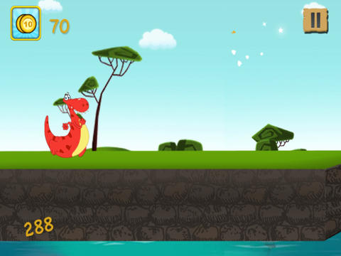 A Baby Dino Run - Family Friendly Dinosaur Jumping Game screenshot 6