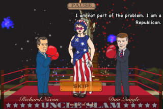 Uncle Slam Vice Squad - Free Vice Presidential Boxing! screenshot 4