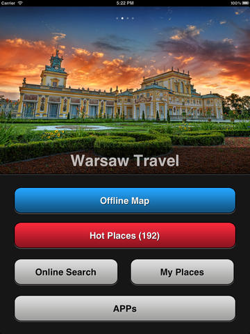 Warsaw Travel Map (Poland) screenshot 6