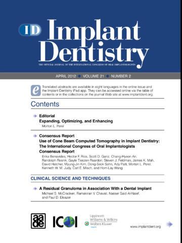 Implant Dentistry - náhled