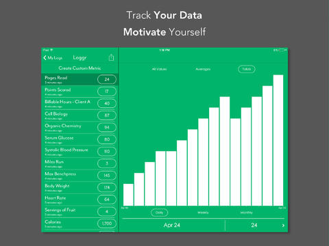 Loggr - Graph Your Life screenshot 8