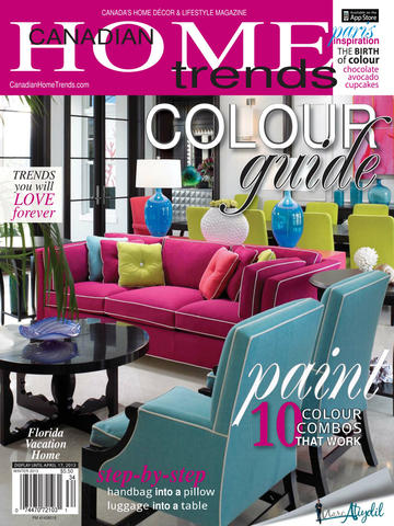 Canadian Home Trends Magazine screenshot 2