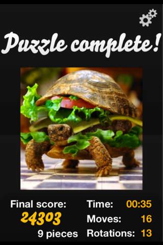 Puzzles HD screenshot 3
