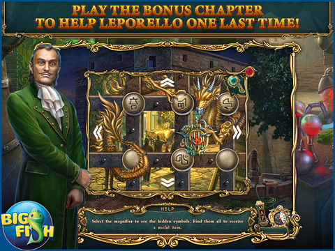 Haunted Legends: The Stone Guest HD - A Hidden Objects Detective Game screenshot 4