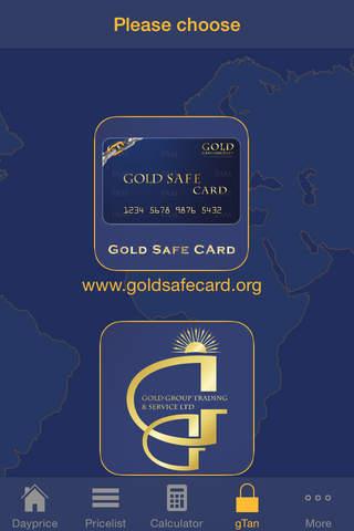 Gold Safe Card - náhled