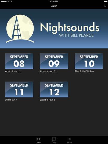 Nightsounds screenshot 4