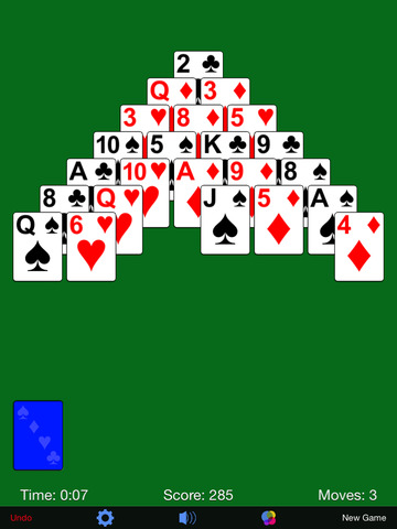 Pyramid Solitaire· screenshot 8