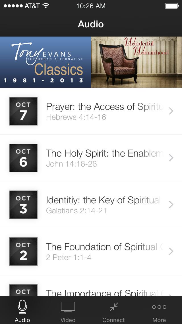 Tony Evans Sermons screenshot 1