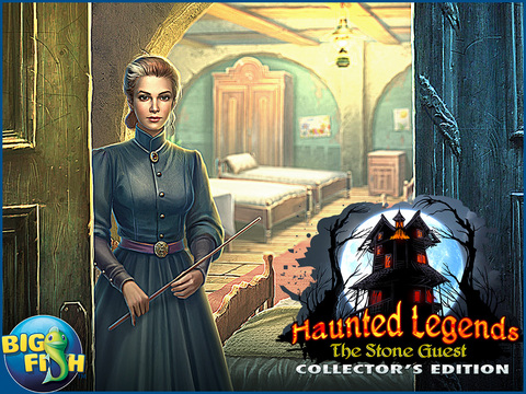 Haunted Legends: The Stone Guest HD - A Hidden Objects Detective Game (Full) screenshot 5
