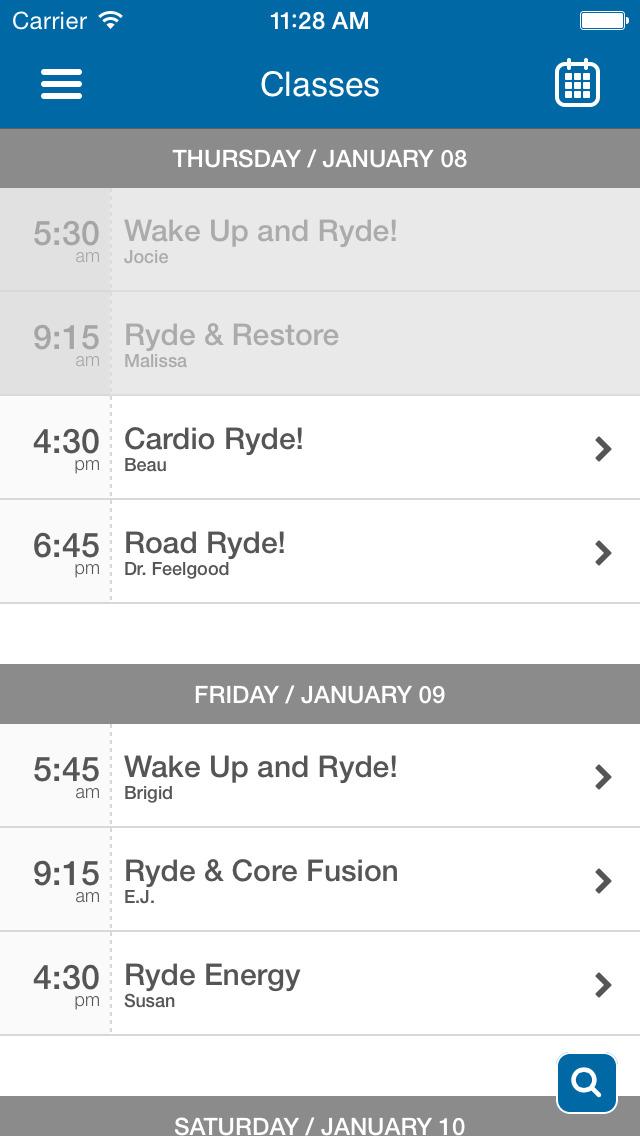 RydeOn! Cycling Studio screenshot #3