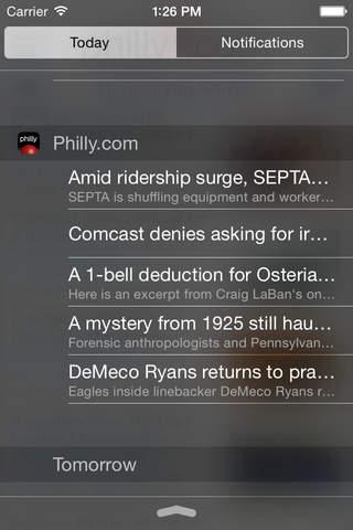 Philly.com App - náhled
