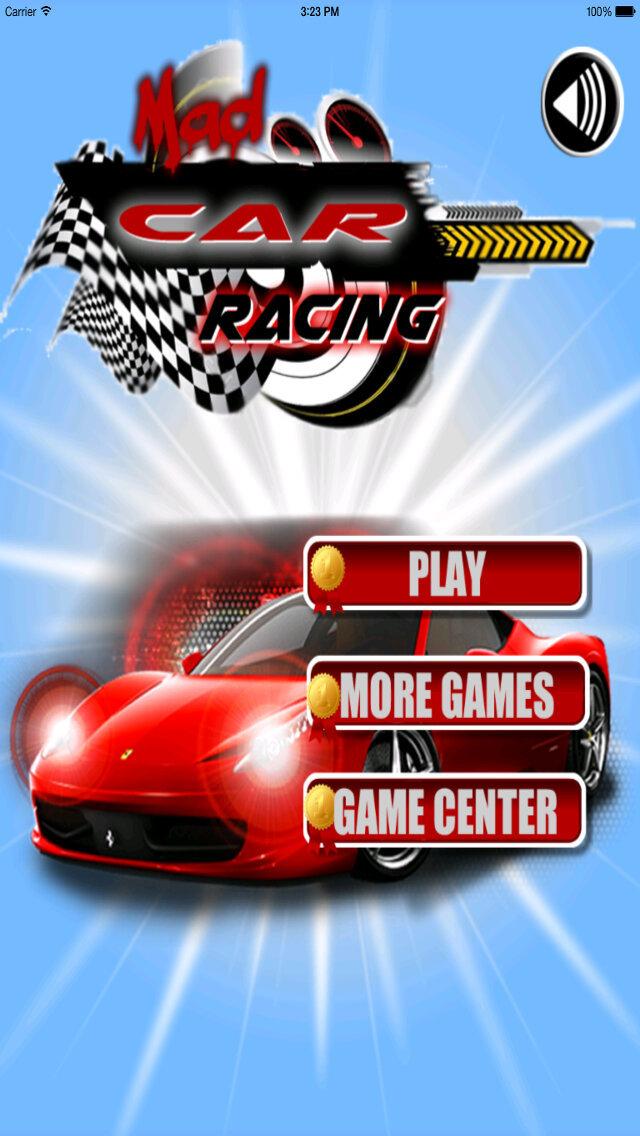 Mad Car Racing - Motor Driving Rivals screenshot 1