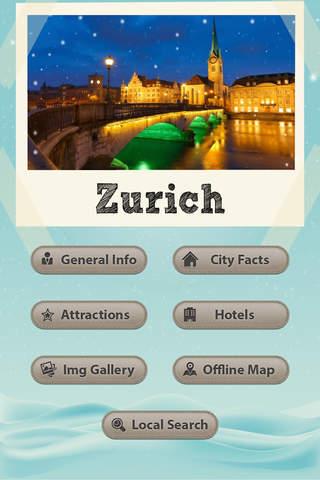 Zurich Travel Guide - Offline Maps - náhled