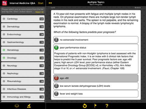 USMLE Internal Medicine Q&A screenshot 7