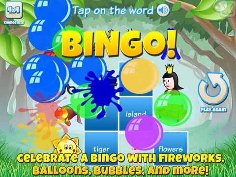 Bingo for Kids (SE) screenshot 7