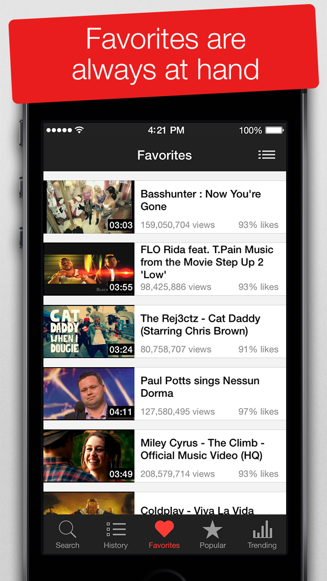 MyTube - Video Player for Youtube Clips, TV-shows and Movies Streaming screenshot 2