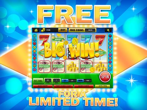 Ace Classic Vacation Slots Casino - Hawaii, Hollywood & Vegas Slot Machine Games Free screenshot 10
