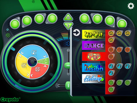 Crayola DJ screenshot 9