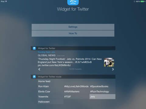 Widget for Twitter screenshot 7